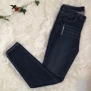Juniors Sneak Peek Low Rise Jeans Size 9